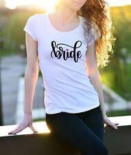 Maglietta Bride - Addio al nubilato - Tshirt simpatica per feste