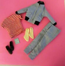 Complete Vintage Barbie Ken The Yachtsman Outfit Set How to Sail A Boat 789 1964