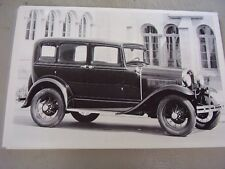 1930 1931  FORD A  4 DOOR    12 X 18 LARGE PICTURE   PHOTO