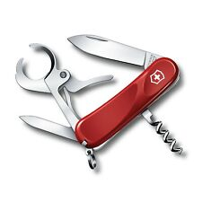 NEW VICTORINOX SWISS ARMY KNIFE CIGAR 36 RED Delemont Collection 2.5703.E-X2