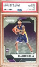 2016-17 Prizm Brandon Ingram Rc Rookie Base PSA10 Hot!!!