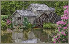 Mabry Mill Counted Cross Stitch Chart by Pegasus Originals
