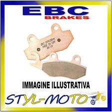 SFA169 PASTIGLIE ORGANICHE ANTERIORI SINISTRA EBC BETA R 125 MINI CROSS 2008
