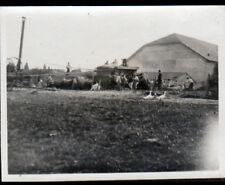 AGRICULTURE / MOISSONNEUSE BATTEUSE en MOISSON / Photo amateur ancienne