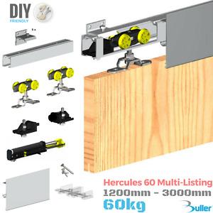 Hercules Sliding Door Track Gear System 60kg (1 door) Top Hung Kit Set