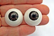 Ojos para muñeca 22 mm marrón reborn bjd ooak dollfie manualidades nancy