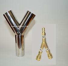 2 Vacuum Hose Amp 14 Solution Line Brass Splitter Carpet Cleaning Truckmount