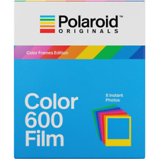 Polaroid Originals Instant Colour Film for 600 Cameras With Colour Frames