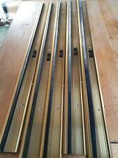 10 DOOR WEATHER SEAL  BY EXITEX TOP QUALITY   990 LONG  THRESHOLD
