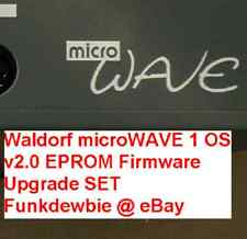 Waldorf microWAVE 1 OS v2.0 EPROM Firmware Upgrade SET