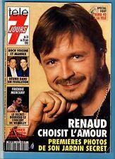 ►TELE 7 JOURS 1673/1992 - RENAUD - FREDDIE MERCURY - ROCH VOISINE - MANNIX