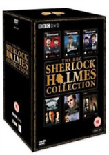Peter Cushing, George Howell-BBC Sherlock Holmes Collection DVD NEW