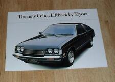Toyota Celica Liftback Brochure 1978 - 2.0 ST XT GT