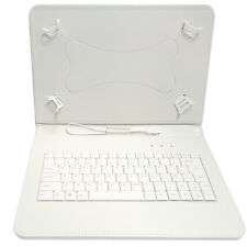 """10.1"""" inch PU Leather Keyboard Case Stand For Alba 10 Inch 16GB Android Tablet"""