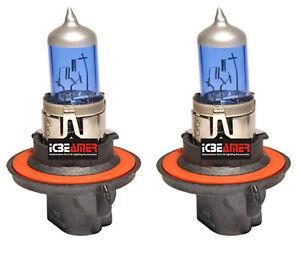 H13 9008 65W Headlight High Low Beam Xenon Super White Replace Halogen Bulb I57