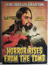 HORROR RISES FROM THE TOMB il terrore sorge dalla tomba -Aured 2 DVD Naschy Line
