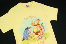 Winnie The Pooh Disney T Shirt Yellow Mens Adult S Tigger Eeyore