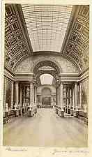 Versailles - Galerie des Batailles Vintage albumen print  Tirage albuminé  1