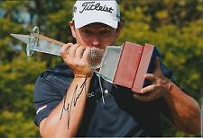 George COETZEE SIGNED Autograph 12x8 Photo AFTAL COA Johannesburg Open Winner