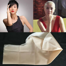 1PC Unisex Fake Latex Flesh Skin Bald Head Wig Cap Cover Costume Prop Trick Gift