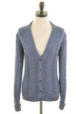 Cardigan da Donna TIMBERLAND maglione XS TAGLIA 6 Cotone Blu
