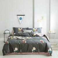 3D Snoopy Blue Ash ZHUA4042 Bed Pillowcases Quilt Duvet Cover Set Queen King Zoe
