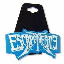 ESCAPE THE FATE CHOOSE YOUR FATE BLUE SILICONE WRISTBAND MUSIC BAND NEW OFFICIAL