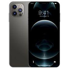 Smartphone i12 Pro Max Androids RAM 8GB ROM 256GB Unlock Dual sim