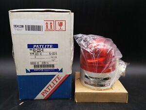 Patlite RU-220-R Revolving Warning Light