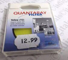 Genuine Quantaray 55mm YELLOW Y 2 Glass Lens Filter Japan 55 mm Y2 (Y2)