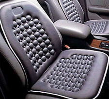 Black Seat Cushion Magnetic Therapy Driver Massage Cars SUV Trucks- Set of 2