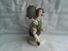 Antique Jean Gille Paris Continental Bisque Porcelain Figure