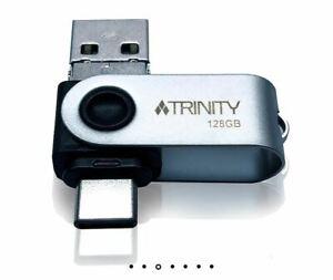 Patriot TRINITY USB 3.0 OTG 3 in 1(Type-A/Type-C/Micro USB) Flash Pen Drive