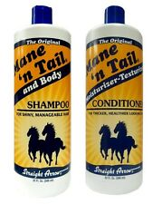 Mane 'n Tail and Body Shampoo 946ml + Moisturizer Texturizer Conditioner 946 ml