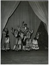 """Bal Goya"" Vintage silver print Tirage argentique  17x22  Circa 1952"