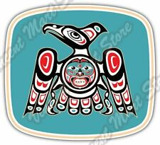 "Eagle Native American Indian Aztec Car Bumper Window Vinyl Sticker Decal 5""X4"""