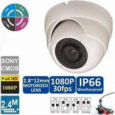 Sony Color Dome Home Security Cameras with Wide Angle