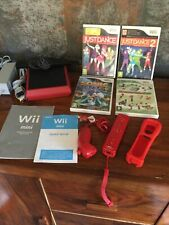 Nintendo Wii Mini 8GB Limited Edition Console - Red