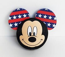 Disney - Mickey Mouse - Patriotic Pride Mickey Face Antenna Topper