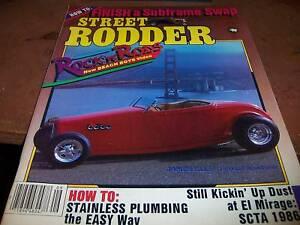 Street Rodder Sept 1986 James Ells' Ferrari Roadster