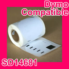 48 Rolls of Premium Compatible Dymo Media(CD/DVD) Label SD14681