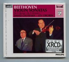 """Beethoven - Violin Sonatas"" David Oistrakh Lev Oborin JVC Made in Japan XRCD CD"
