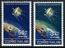 Thailand 498-499, MNH. Syncom Satellite over Thai Tracking Station, 1968