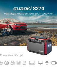 Suaoki Portable Solar Generator Power Source Supply Energy Storage Kit 150Wh USB
