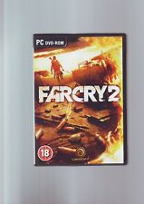 FAR CRY 2 - PC GAME - FAST POST - ORIGINAL EDITION WITH MANUAL - VGC