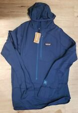 Patagonia Men's R1 Pullover Hoody (Slim Fit) - Size M (Superior Blue) *NWT