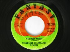 Creedence Clearwater Revival Bad Moon Rising / Lodi  45 Fantasy 1969