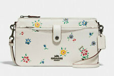 COACH Noa Messenger with Pop-Up Pouch Crossbody Clutch Wallet wildflower ~NWT~
