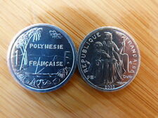 Pièce monnaie POLYNESIE FRANCAISE FRENCH POLYNESIA 1 Fr 2003 NEUVE UNC