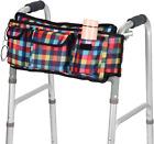 Walker Bag Folding Basket Organizer Pouch Tote for Elderly Rollator Wheelchair